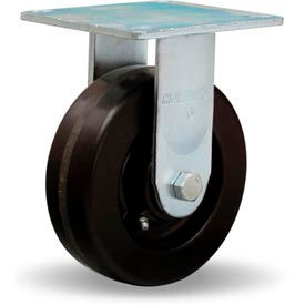 Hamilton® Medium Service Rigid 6 x 2 Plastex Roller 900 Lb. Caster