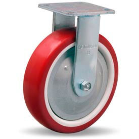 Hamilton® Thread Guard Cold Forged Rigid 8 x 2 Poly-Tech Roller 900 Lb. Caster