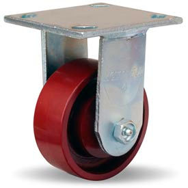 Hamilton® Whirlaway Cold Forged Rigid 4 x 1-1/2 Metal Roller 550 Lb. Caster