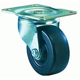 Hamilton® Leader Light Duty Swivel 3 x 1-1/4 Flexonite Oilless 125 Lb. Caster
