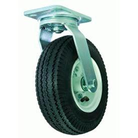 "Hamilton® Cush-N-Aire Zinc Swivel 12"" Pneumatic Roller 625 Lb. Caster"