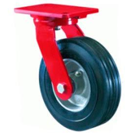 Hamilton® Cush-N-Flex Forged Swivel 8 x 2-1/2 Super-Flex Roller 500 Lb. Caster