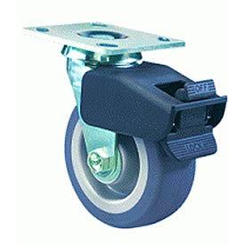 Hamilton® Combination Brake Cold Forged Swivel 4 x 2 Aqualite® Delrin 550 Lb. Caster