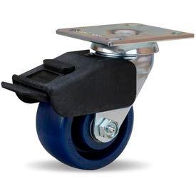 Hamilton® Combination Brake Cold Forged Swivel 4 x 2 Unilast® Ball 750 Lb. Caster