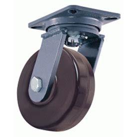 Hamilton® Champion™ Forged Swivel 10 x 3 Plastex Roller 2900 Lb. Caster