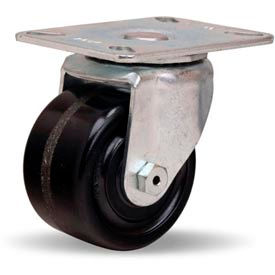 Hamilton® Hi-Lo Light Duty Swivel 3 x 1-3/4 Plastex Roller 400 Lb. Caster