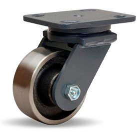 Hamilton® Workhorse Forged Swivel 4 x 1-1/2 Forged Roller 1400 Lb. Caster