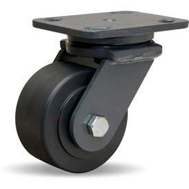 Hamilton® Workhorse Forged Swivel 4 x 2 Nylast™ Ball 2000 Lb. Caster