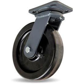 Hamilton® Workhorse Forged Swivel 8 x 2 Plastex Roller 1400 Lb. Caster