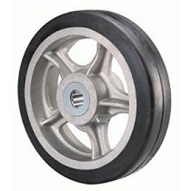 """Hamilton® Rubber On Aluminum Wheel 10 x 2 - 5/8"""" Roller Bearing"""