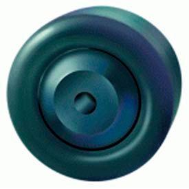 "Aqualite Wheel 3-1/2x1-3/8 1/2"" Plain Bearing"