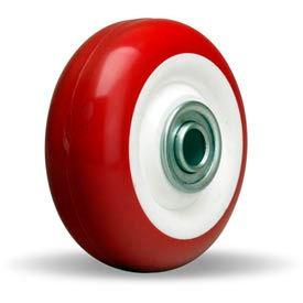 """Hamilton® Poly-Tech Wheel 3-1/2 x 1-3/8 - 1/2"""" Ball Bearing"""