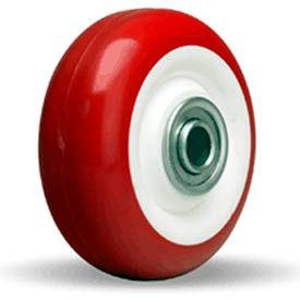 "Hamilton® Poly-Tech Wheel 3-1/2 x 1-3/8 - 1/2"" Stainless Ball Bearing"