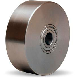 "Hamilton® Stainless Steel Wheel 4 x 1-3/8 - 1/2"" Ball Bearing"