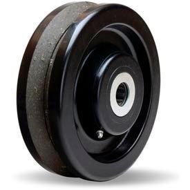 "Hamilton® Plastex V-Groove Wheel 8 x 2-1/2 - 1"" Roller Bearing"