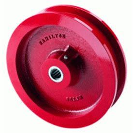 """Hamilton® Track Wheel 5 x 1-11/16 - 1"""" Tapered Bearing"""