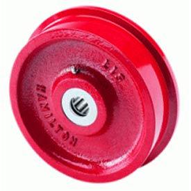 "Hamilton® Track Wheel 6-1/8 x 1-11/16 - 3/4"" Roller Bearing"