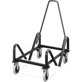 HON HON4043T Olson 4040 Series Cart for HON Olson Stacking Chairs Black by