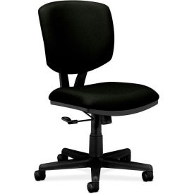 HON® HON5701GA10T Volt Armless Task Chair Black Polyester