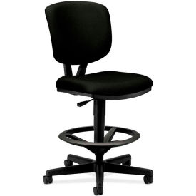 HON® Volt Armless Task Chair - Fabric - Black