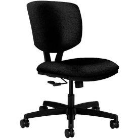 HON® HON5721HAB10T Volt Armless Task Chair, Black Olefin
