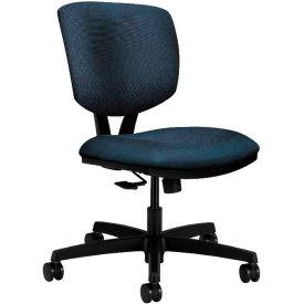 HON® HON5723HBK85T Volt Armless Task Chair, Blue Polyester