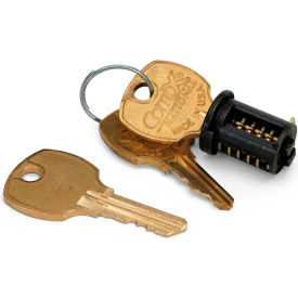 HON® Lock Core Replacement Kit for Wood Casegoods Black - 10500 Series