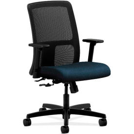 HON® HONIT106AB90 Ignition Adjustable Arm Low-Back Task Chair, Blue