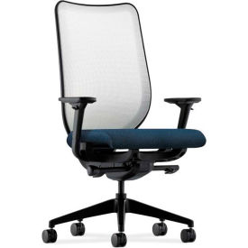 HON® HONN102AB90 Nucleus Adjustable Arm Task Chair, Blue