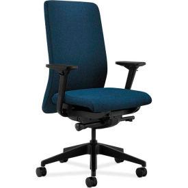 HON® HONN104AB90 Nucleus Adjustable Arm Task Chair, Blue Olefin
