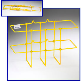 "Horizon Mfg. Yellow Binder Rack, 3002, 13-1/4""L X 5""W X 8-3/4""H by"