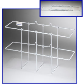 "Horizon Mfg. White Binder Rack, 3003, 13-1/4""L X 5""W X 8-3/4""H by"
