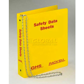 "Horizon Mfg. English Three Ring SDS Binder, 3011, 1-1/2""W by"