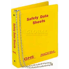 "Horizon Mfg. English Three Ring SDS Binder, 3013, 3""W by"
