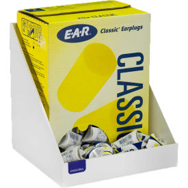 Horizon Mfg. 200 Pair Foam Ear Plug Tray, White, Heavy-Duty Plastic, 5132-W,...