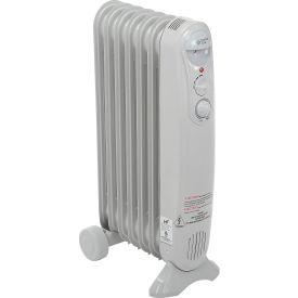 Comfort Zone® Value Sized Oil-Filled Radiator Heater CZ7007J - 1200/700/500 Watt