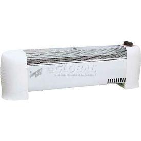 Comfort Zone® Low Profile Silent Operation Baseboard Heater CZ600 - 750/1500 Watt
