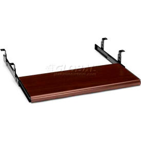 "HON® Keyboard Platform, 4022N, Laminate, 21-1/2"" X 10"" X 1-3/23"", Mahogany"
