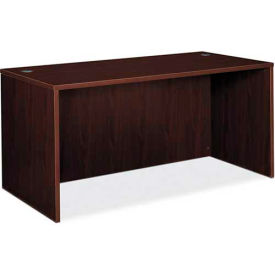 "basyx® by HON® Desk Shell - 60"" x 30"" - Mahogany - BL Series"