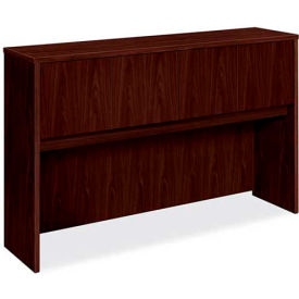 """basyx® by HON® Hutch with 4 Doors - 60"""" - Mahogany - BL Series"""