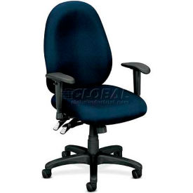HON® - Basyx® VL630 High Performance Task Chair with Adjustable Arms, Navy