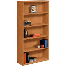 "HON® 10500 Series Bookcase, Five-Shelf, 36""W x 13-1/8""D x 71""H Harvest"