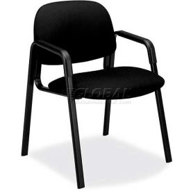 HON® - Solutions Seating® 4000 Series, Guest Chair with 4-Leg Base, Black