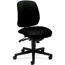 HON® - 7700 Series, High Performance Task Chair with Seat Glide Mechanism, Black