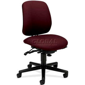 HON® - 7700 Series, High Performance Task Chair with Seat Glide Mechanism, Wine