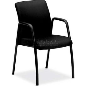 HON® - Ignition™ Guest Chair with Arms, Black