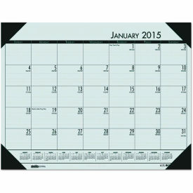 House of Doolittle™ EcoTones Woodland Green Monthly Desk Pad Calendar, 22 x 17, 2019