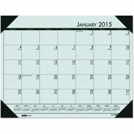 House of Doolittle™ EcoTones Woodland Green Monthly Desk Pad Calendar, 22 x 17, 2019