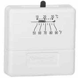 Honeywell 1 Heat Stage Thermostat For 24 Volt Control Of Heating Only Systems T812A1002