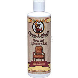 Howard Clean-A-Finish Wood Soap 16oz. Trigger Spray Bottle 6/Case by
